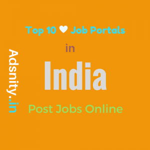 Top10 job portals India post free jobs online-500x500