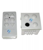 2 Modular Digital switch for 3 Lights along with Remote Control and can be Fixed or Replaced Directly into the space provided for a 2 Module