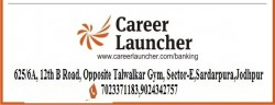 Career Launcher- Bank PO, Clerk, SSC-10+2/ CGL Coaching Institute in Jodhpur, Rajasthan
